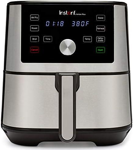 Instant Vortex Plus Air Fryer 6 in 1, Best Fries Ever, Dehydrator, 6 Qt, 1500W