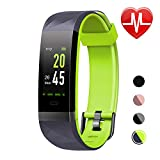 LETSCOM Fitness Tracker HR Color Screen, Heart Rate Monitor, IP68 Waterproof Smart Watch