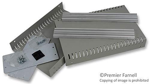 1402FV - Metal Enclosure, 1402 Series, Vented, Instrument, Aluminium, 79 mm, 181 mm, 262 mm, IP30 (1402FV)