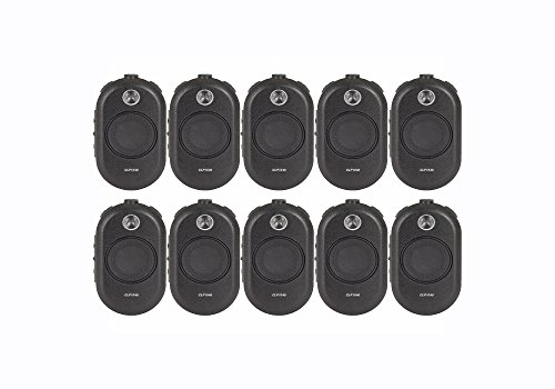 10 Pack of Motorola CLP1040 Business Two Way Radio Walkie Talkies by Motorola