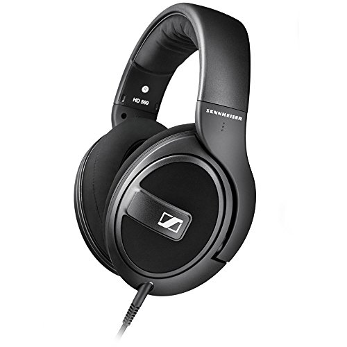 Sennheiser - Hd 569 Over-the-ear Headphones Hd 5 - Black