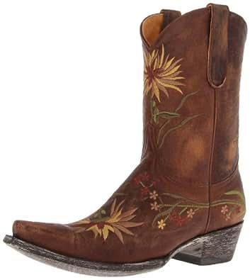 Old Gringo Women's Ellie Boot,Brass/Yellow,5 M US