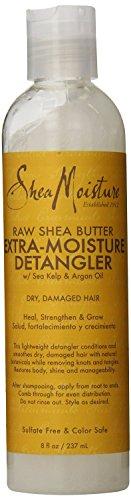 Shea Moisture Raw Shea Butter Extra Moisture Detangler with Sea Kelp and Argan Oil (2 Pack)