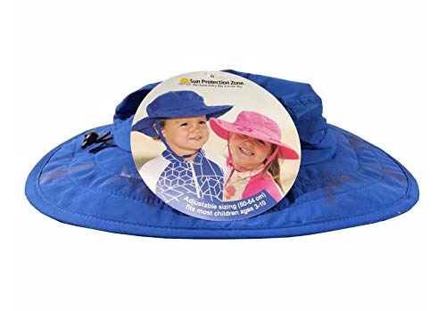 bfbbb1273a07d Sun Protection Zone Kids UPF 50+ Safari Sun Hat