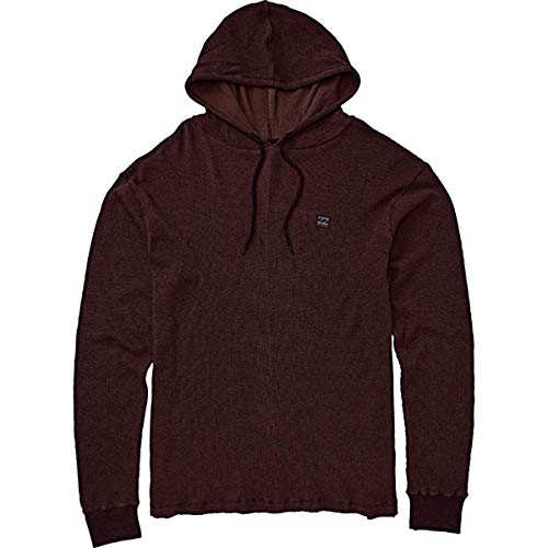 Billabong Men's Keystone Pullover Hoodie Oxblood Medium (Sweatshirt Billabong Thermal)