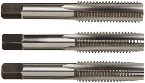Alfa Tools CSHTS70532 1//4-20 Carbon Steel Hand Tap Set Taper//Plug//Bottom
