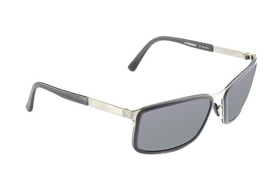 Porsche Design - Gafas de sol - para hombre Gris 1: Amazon ...