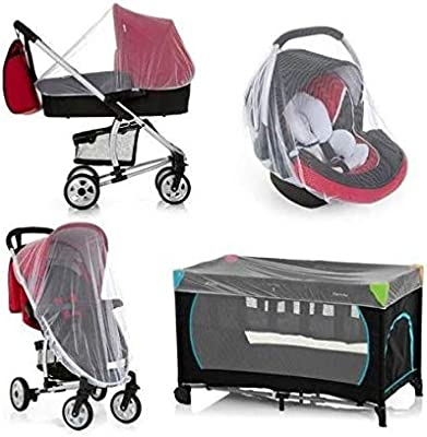 Newborn Infant Baby Stroller Crip Net Pushchair Mosquito Insect Net Safe Mesh  X