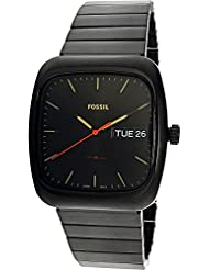 Fossil  Men's Rutherford FS5333 Black One Size