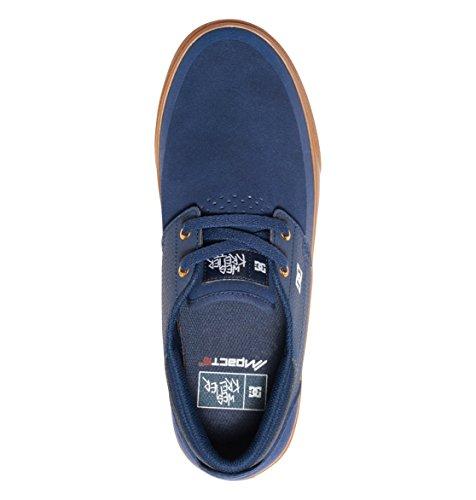 DC para hombre zapatos de Wes Kremer 2S Navy/Gum