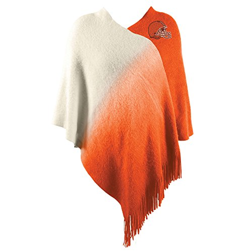 Littlearth NFL Cleveland Browns Dip Dye Poncho (Cleveland Browns Couch)