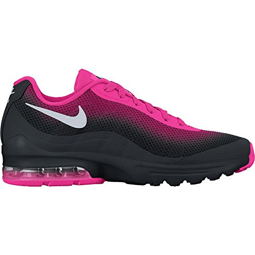 7b592266c5 Galleon - NIKE Women's Air Max Invigor Print Running Shoe, Black/Metallic  Silver-Pink Foil 5