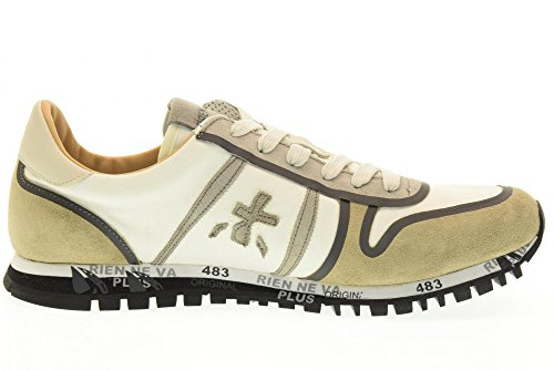 PREMIATA SIMON homme baskets basses 2133 taille 42 Beige / taupe
