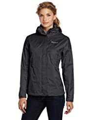 Marmot Women's Precip Jacket, Black, X-Small