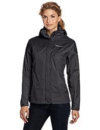 Marmot Women\'s Precip Jacket, Black, Medium