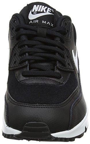 Nike Damen Air Max 90 Gymnastikschuhe Schwarz (Black/white 047)