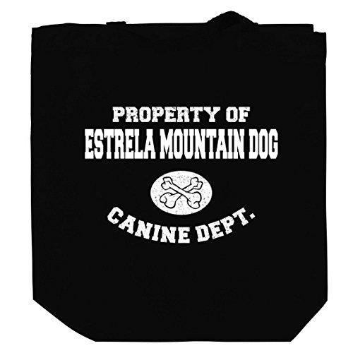 property-of-estrela-mountain-dog-canine-dept-canvas-tote-bag