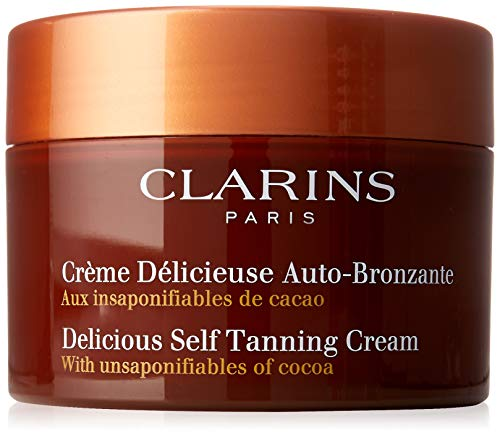 Clarins Delicious Self Tanning Cream By Clarins for Unisex - 5.3 Oz Cream, 5.3 Ounce