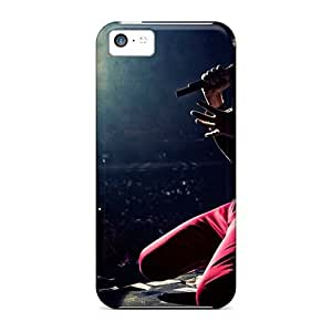 Bumper Hard Cell-phone Cases For Iphone 5c With Customized High Resolution Muse Pictures DannyLCHEUNG