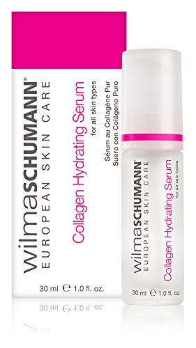WILMA SCHUMANN Collagen Hydrating Serum (1 Ounces / 30 Milliliter) - Pure, Natural Collagen to Increase Suppleness and Reduce The Appearance of Fine Lines