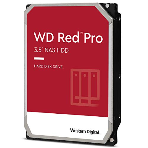 Western Digital Red Pro WD102KFBX 8,9 cm (3,5 inch) NAS interne harde schijf – 7200 rpm