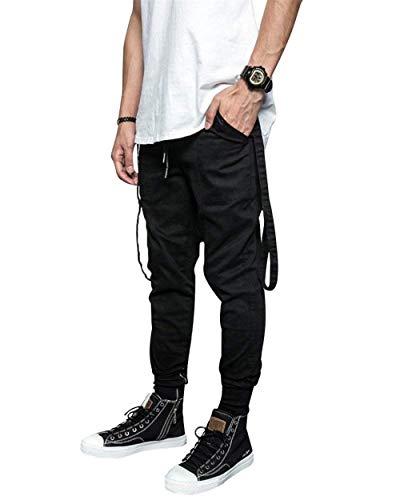 Classiche Ssig Ragazzi Pantaloni Comode Morbide Cargo Con Multitasche Da Uomo Multi Blacka Jeans E Tasche Moda Cotone n8SwgqqY