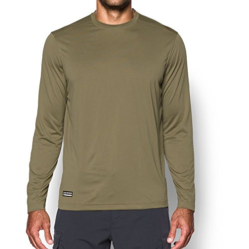 - Under Armour Men's Tactical  Tech Long Sleeve T-Shirt, Federal Tan /None, XXX-Large