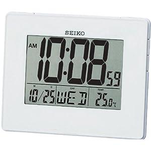 Seiko QHL057W - Reloj Despertador Digital 9