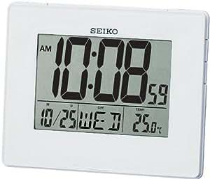 Seiko QHL057W - Reloj despertador digital