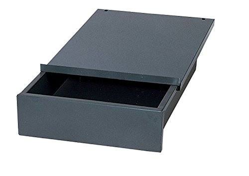 Edsal WD1218 Industrial Gray Steel Bench Drawer, 4'' Height x 12'' Width x 18'' Depth (Pack of 2) by  (Image #1)