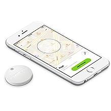Chipolo Plus Smart Keyring Bluetooth Tracker, Phone Finder, Key Finder, Wallet Finder, Item Finder - Pearl White …