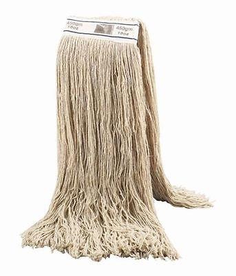 10 Kentucky Industrial Mophead cotton twine cleaning Mop floor hygiene 16oz. SYR