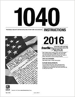 form 1040 instructions 2016  8 Instructions 8: U.S. Internal Revenue Service (IRS ...