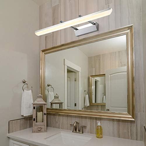 -badezimmerlampe Einfach Badezimmer 40/60 / 80 / 100cm LED-Spiegel-Frontleuchte Hotel Home wasserdicht Anti-Fog-Teleskopspiegelschrank Beleuchtung Badleuchte (Color : White light)