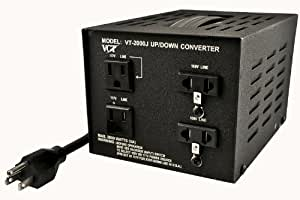 VCT VT-2000J - Japanese Step Up/Down Voltage Transformer Converts Japan 100 Volts To 110V OR Vice Versa - 2000 Watt