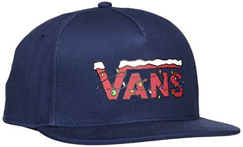 Vans Talla Christmas Talla Hombre Snapback del para OS Azul Vans Apparel X Fabricante Peanuts de Gorra única Béisbol 5nxPP61qwp