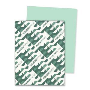 xact Index Card Stock, 90lb, 8 1/2 x 11, Green, 250 Sheets ()