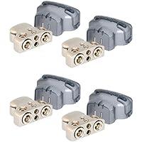 4 ROCKFORD FOSGATE RFDB1 0/1/4-Gauge 8 Ga Positive/Negative Car Battery Terminal