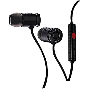 Munitio NINES Tactical Earphones with 1 Button Universal Mic Control - Black