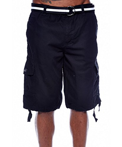 MEN'S SOUTHPOLE CARGO BASIC BELTED SHORTS 9001-3341 (36, (Southpole Belted Jeans)