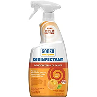 Gonzo Natural Magic Disinfectant - 24 Ounce Citrus - Disinfect Deodorize and Clean Your Home