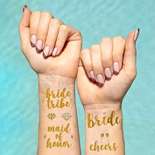 Bachelorette Party Flash Tatuajes – Tribu de la novia, dama de ...