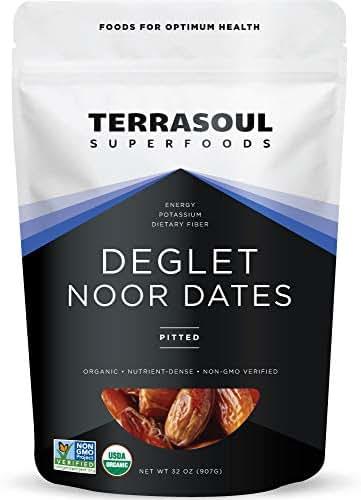 Dried Fruit & Raisins: Terrasoul Deglet Noor Dates