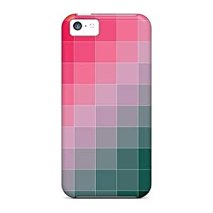 New Cute Funny Colored Squares Case Cover/ Iphone 5c Case Cover