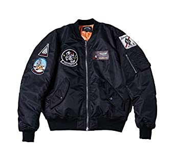 AVIDACE Classic Bomber Jacket Men Nylon Quilted with