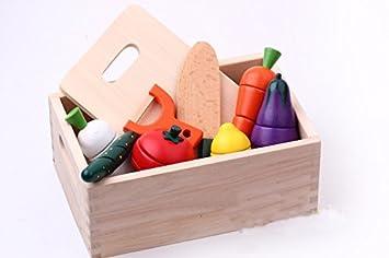 Natureich Küchenspielzeug aus Holz für Kinder ab 3 Jahre ...