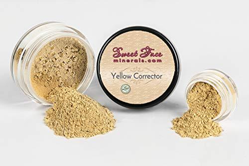 - YELLOW CORRECTOR Concealer Mineral Makeup Bare Skin Natural Powder Full Cover (20 gram Sifter Jar)