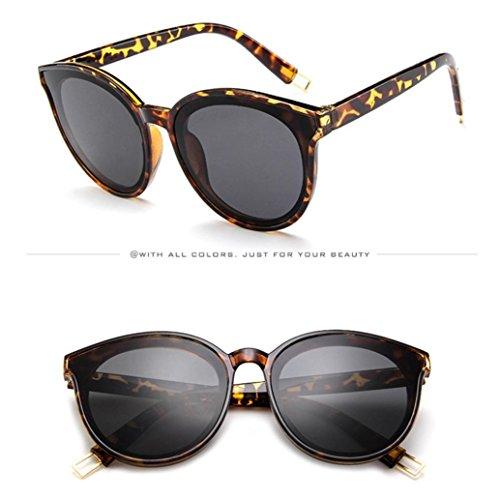 Rapper Soleil Hommes lunette H Yc Dream Lunettes Frame Big Soleil Girl Retro Femmes Ronde De Eyewears Vintage FwqqB7x0I