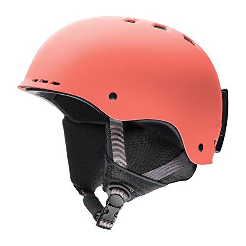 Smith Optics Adult Holt Ski Snowmobile Helmet - Matte Sunburst / Large