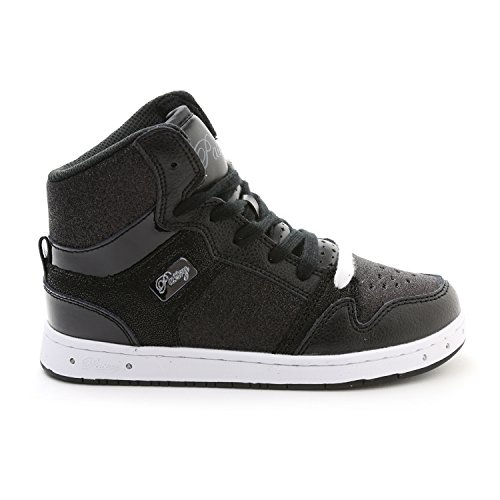 Pastry Youth Glam Pie Glitter Dance Sneackers, Black, Size 13 - Pastry High Tops